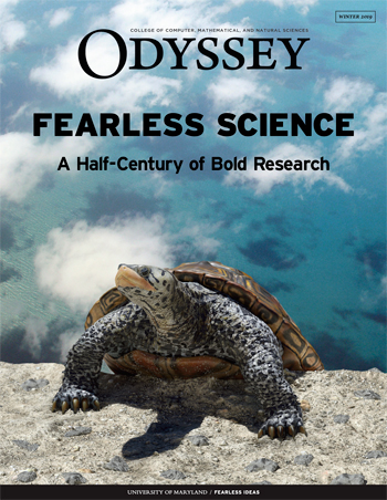 Cover image, Odyssey Magazine, Winter 2019