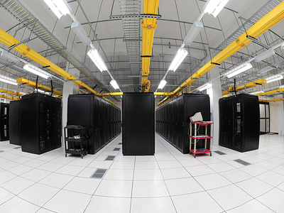 A data center. Image credit: Bob West