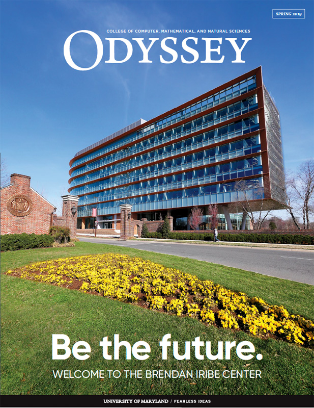 Cover image, Odyssey Magazine, Spring 2019