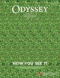 Odyssey magazine cover June 2014