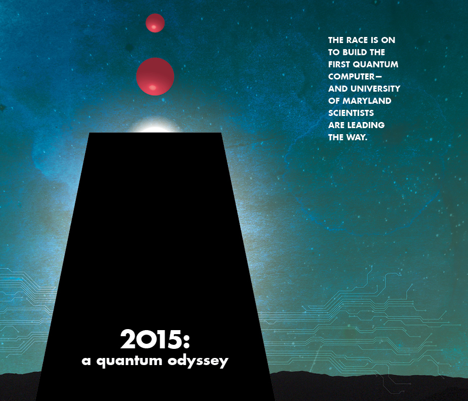 2015: A Quantum Odyssey. Illustration by Loretta Kuo